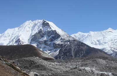Island Peak, Peak Climbing in Nepal, View of Island Peak