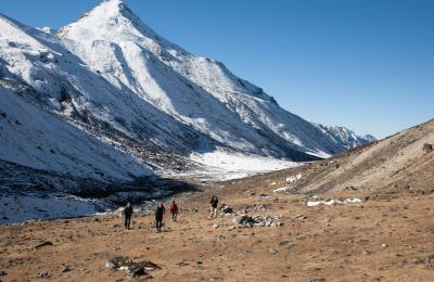 Kanchanjunga Circuit Trek, Trekking trial, Views of Mountain